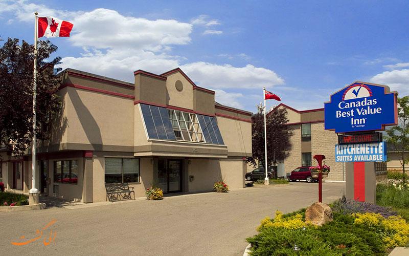 هتل کاناداز بست ولیو این تورنتو