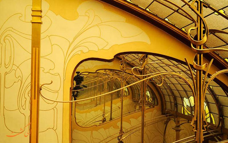 فضایی در موزه هورتا بروکسل