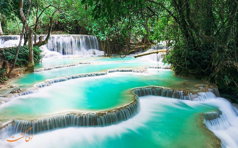 آبشار کوانگ سی لائوس