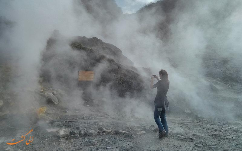کوه آتشفشان فلگرایین ایتالیا