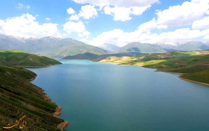 دریاچه سد چای