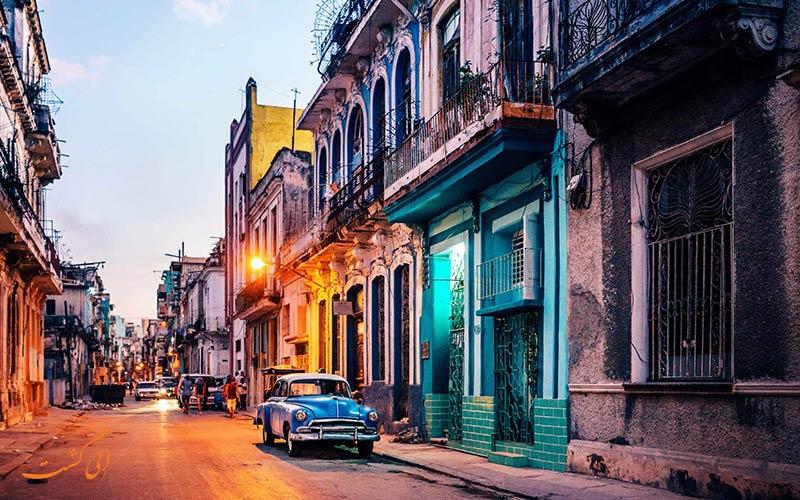 خیابان های کوبا