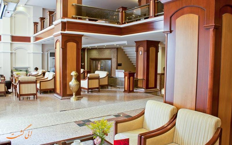 لابی ورودی هتل کلاس استانبول