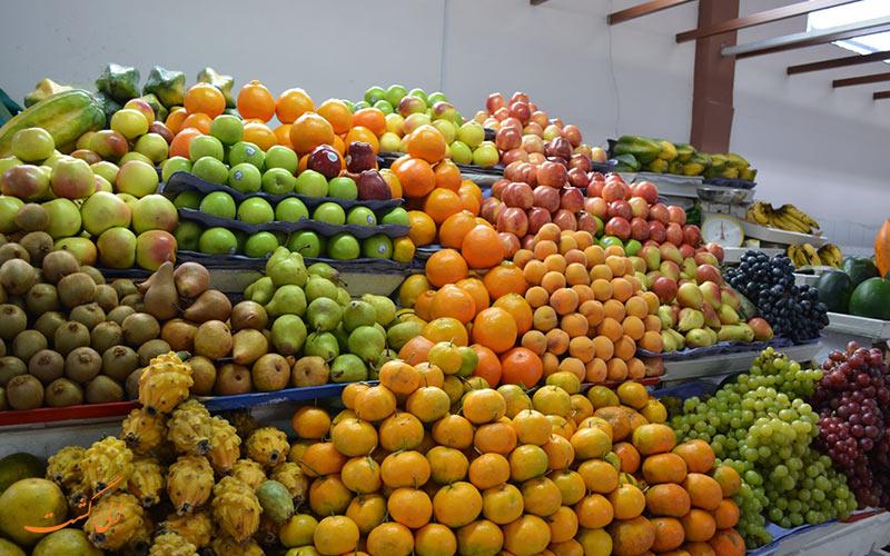 بازار سانتا کلارا در کیتو اکوادور