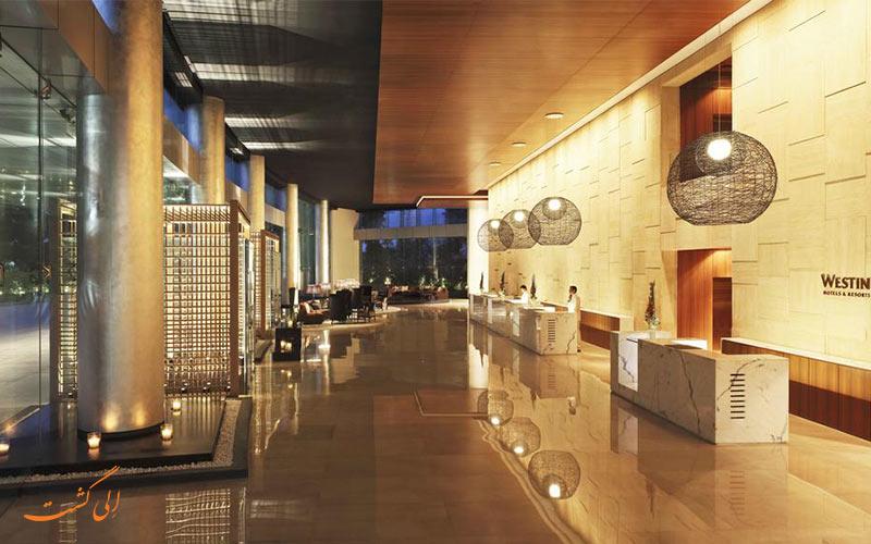 هتل وستین مومبای گاردن سیتی بمبئی   لابی