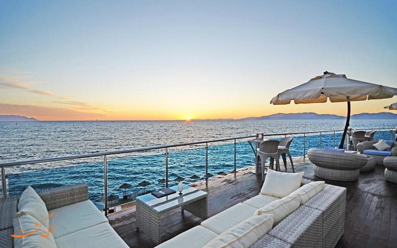 هتل کاریزما دلوکس کوش آداسی | فضای بیرونی