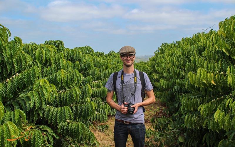 مزرعه قهوه اکوادور