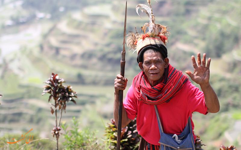 قبایل ایگوروت در شمال فیلیپین