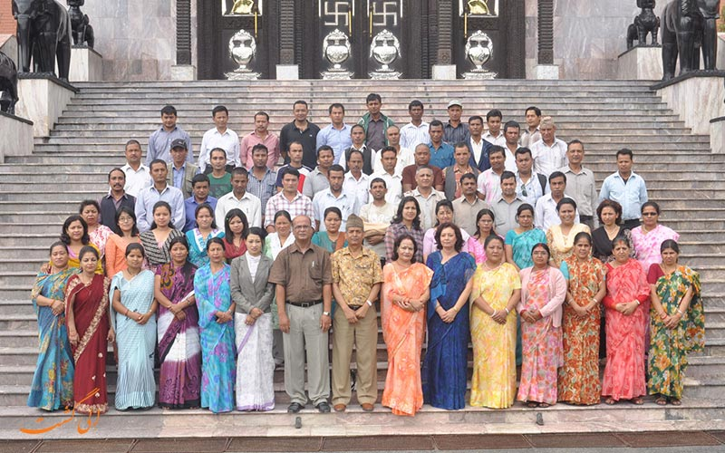 کارمندان کاخ نارایان هیتی نپال