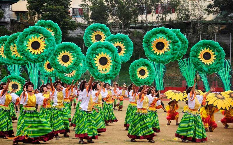 فستیوال گل ها فیلیپن