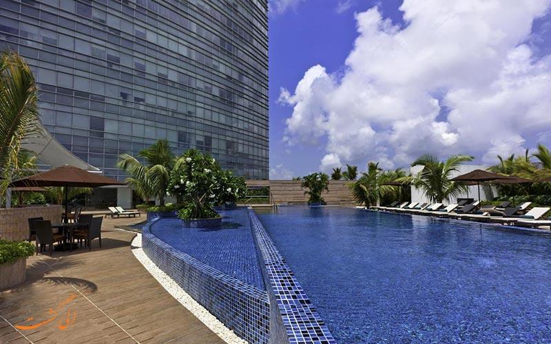 هتل وستین مومبای گاردن سیتی بمبئی   استخر