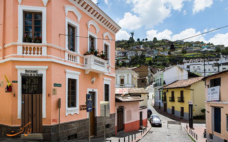 محله تاریخی کیتو اکوادور