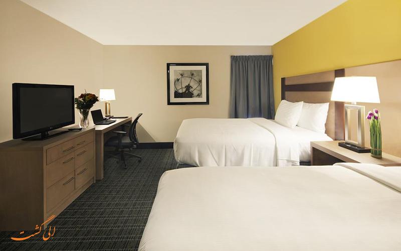هتل کاناداز بست ولیو این تورنتو | نمونه اتاق