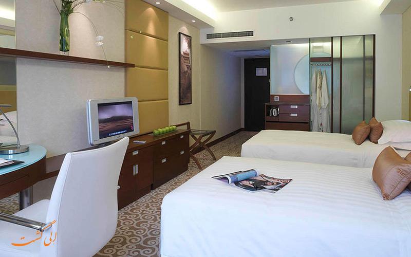 هتل کراون پلازا وانگ فوجینگ پکن | اتاق