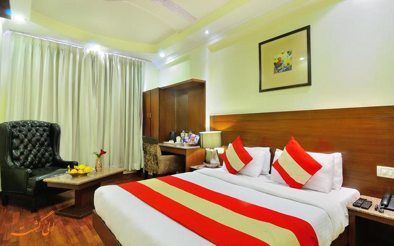هتل د راج دهلی | نمونه اتاق