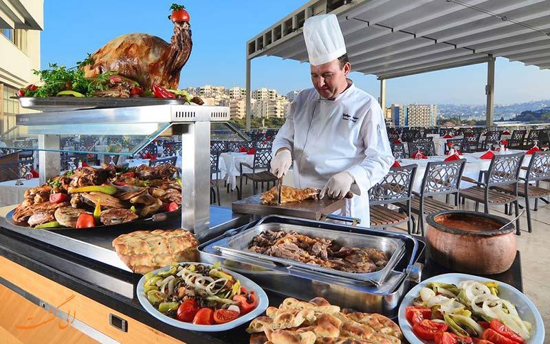 هتل کرومار دلوکس | رستوران