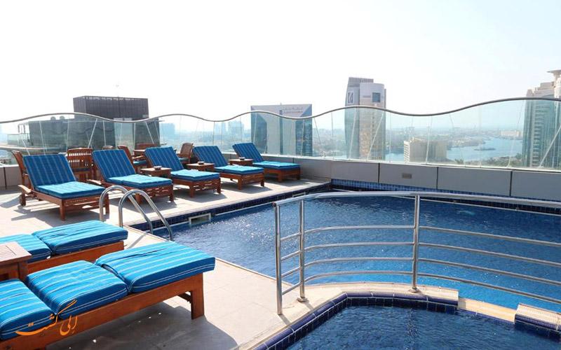 هتل سامایا دیره دبی | استخر