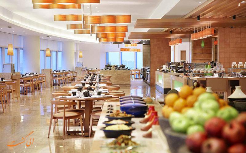 هتل وستین مومبای گاردن سیتی بمبئی   رستوران
