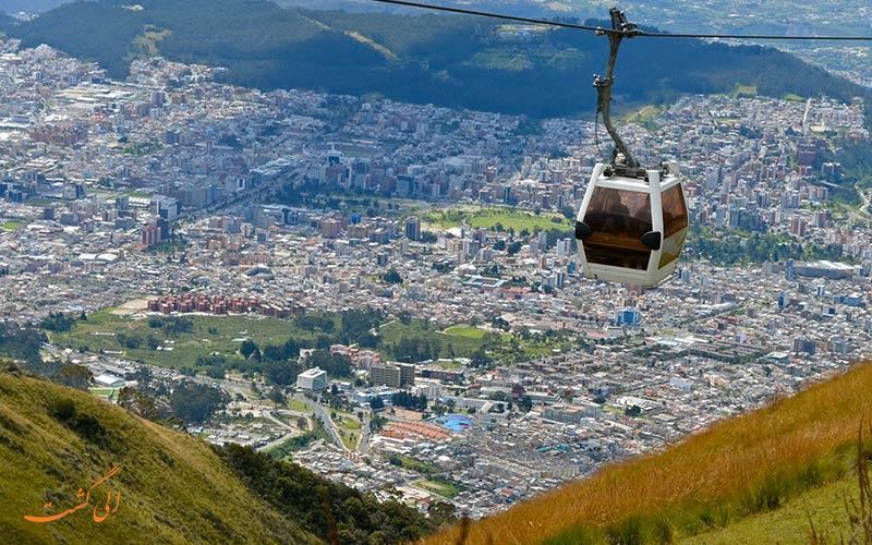 تله کابین کیتو اکوادور