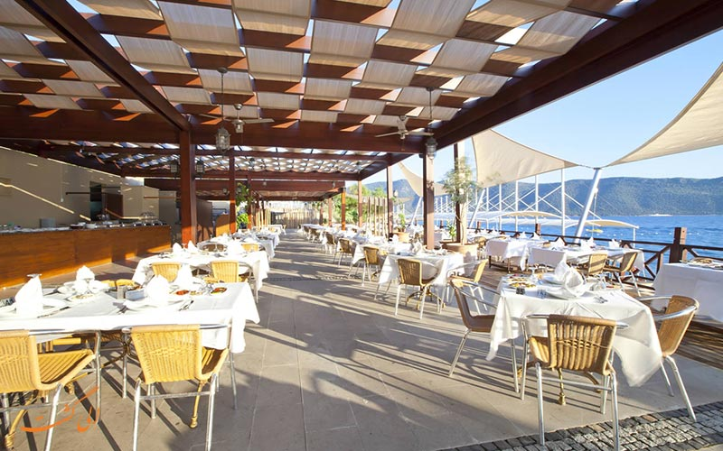 هتل ارسان ریزورت بدروم | رستوران
