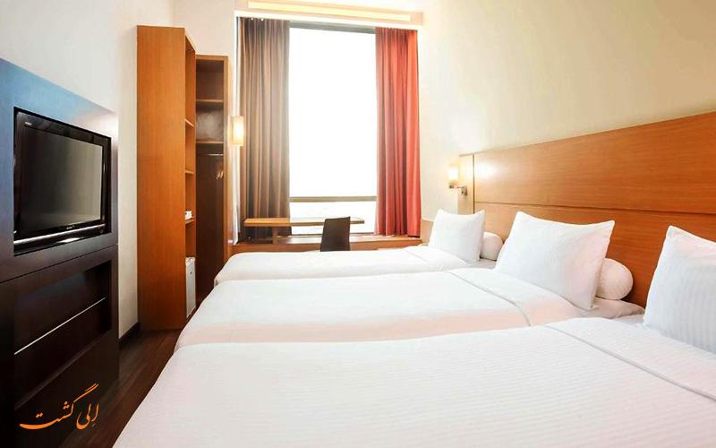هتل ایبیس سنگاپور نونا | اتاق تریپل