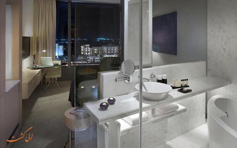 هتل مدیا وان دبی | سرویس حمام
