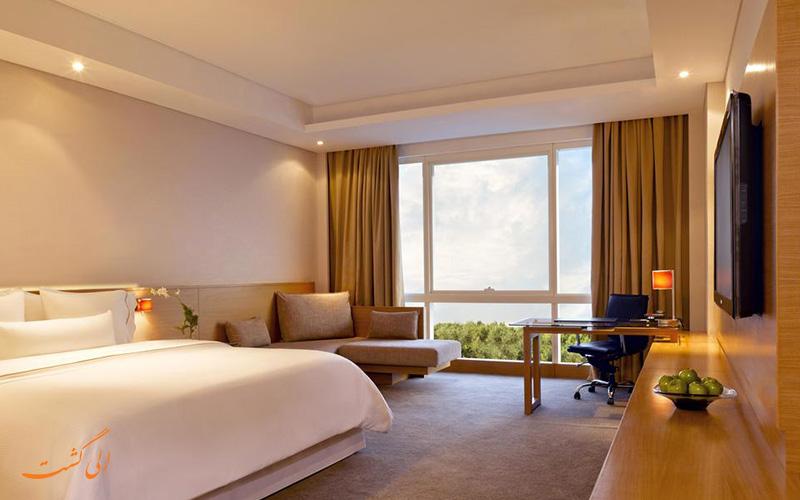 هتل وستین مومبای گاردن سیتی بمبئی   اتاق