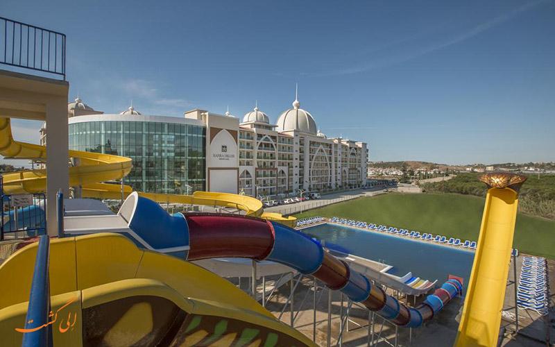 هتل زافیرا دلوکس آلانیا | استخر