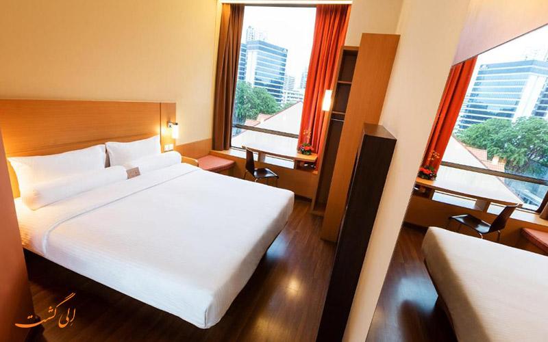 هتل ایبیس سنگاپور نونا | نمونه اتاق