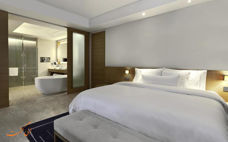 هتل وستین مومبای گاردن سیتی بمبئی   نمونه اتاق