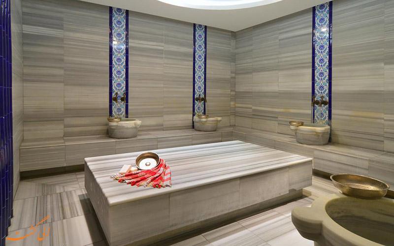 هتل پرا تولیپ استانبول | حمام ترکی