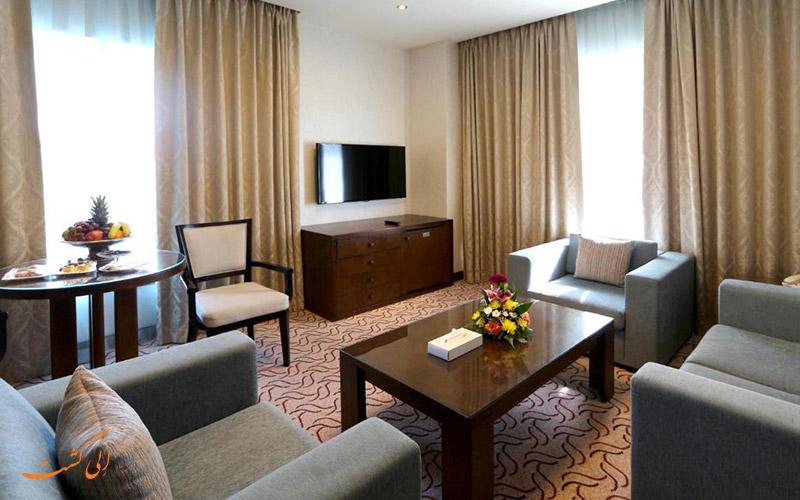 هتل سامایا دیره دبی | نشیمن اتاق