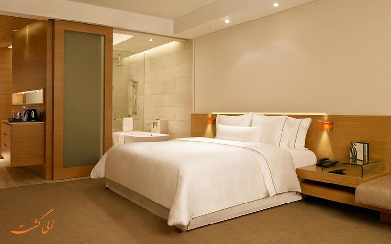 هتل وستین مومبای گاردن سیتی   نمونه اتاق