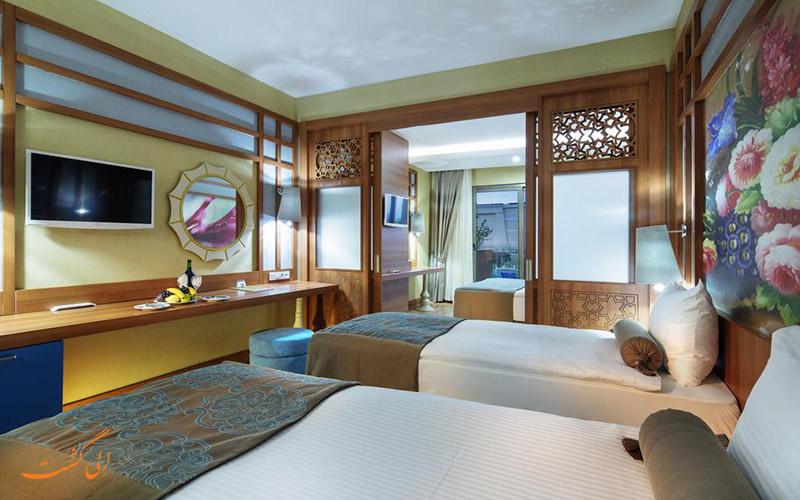 هتل زافیرا دلوکس آلانیا | اتاق تویین
