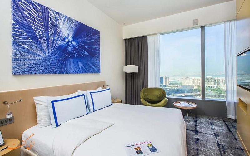 هتل مدیا وان دبی | نمونه اتاق ها