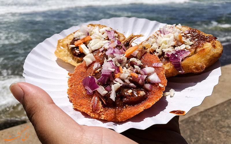 غذاهای خیابانی کلمبو