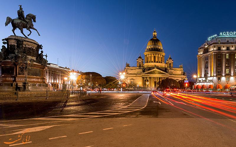 سفر به سنت پترزبورگ