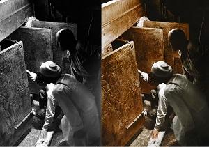 عکس های قدیمی مقبره فرعون