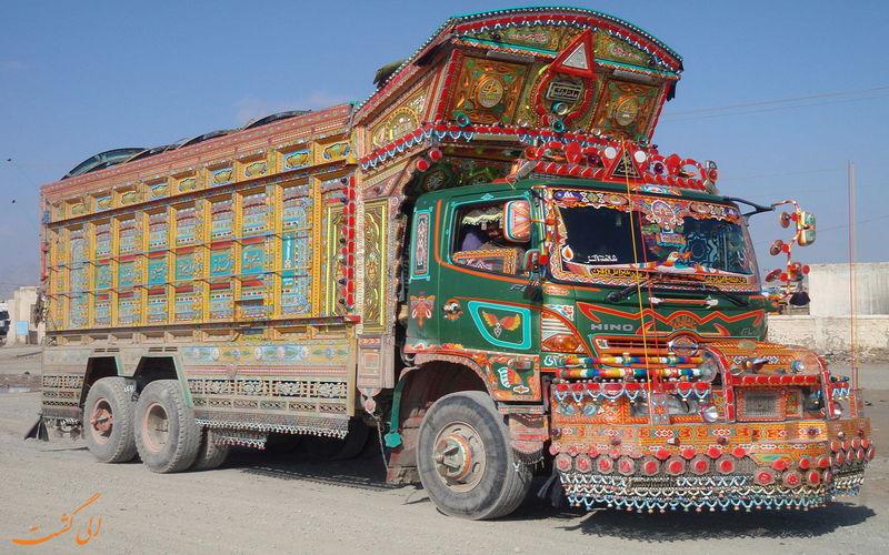 کامیون های عجیب و غریب پاکستانی