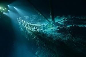 بازدید از کشتی تایتانیک
