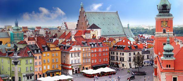 شهر ورشو در لهستان