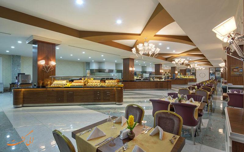 هتل زافیرا دلوکس آلانیا | رستوران