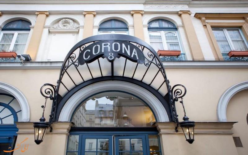 هتل کرونا اپرا پاریس