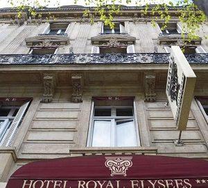 هتل رویال الیزه در پاریس