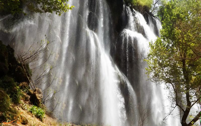 زرد لیمه - عریض ترین آبشار ایران