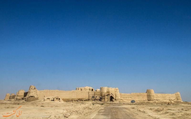 بنای با شکوه قلعه رستم در سیستان