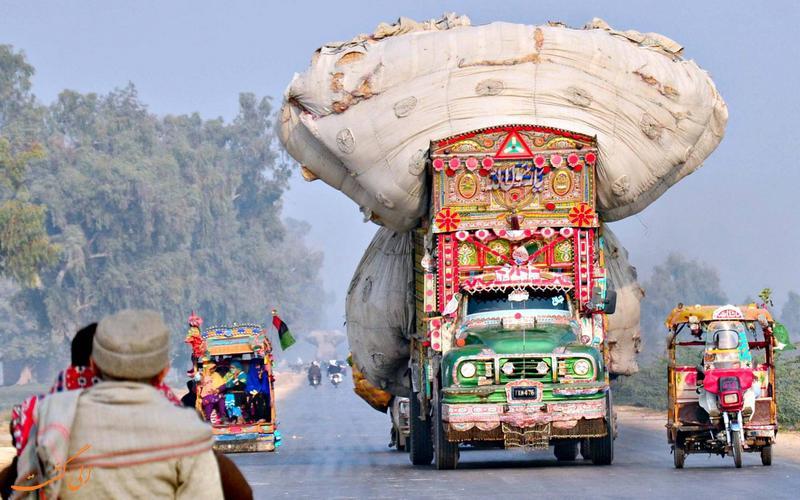 کامیون های جینگیل بینگیل در پاکستان