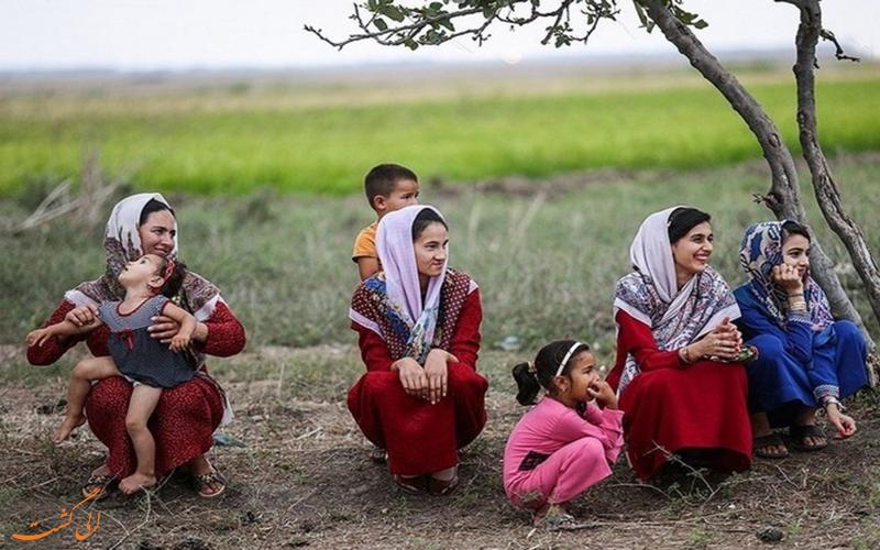 لباس محلی ترکمن ها