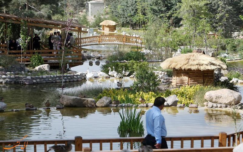 تصویری از باغ پرندگان تهران