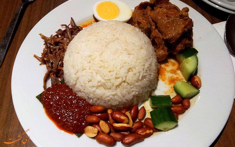 فرهنگ غذایی در مالزی چگونه است؟